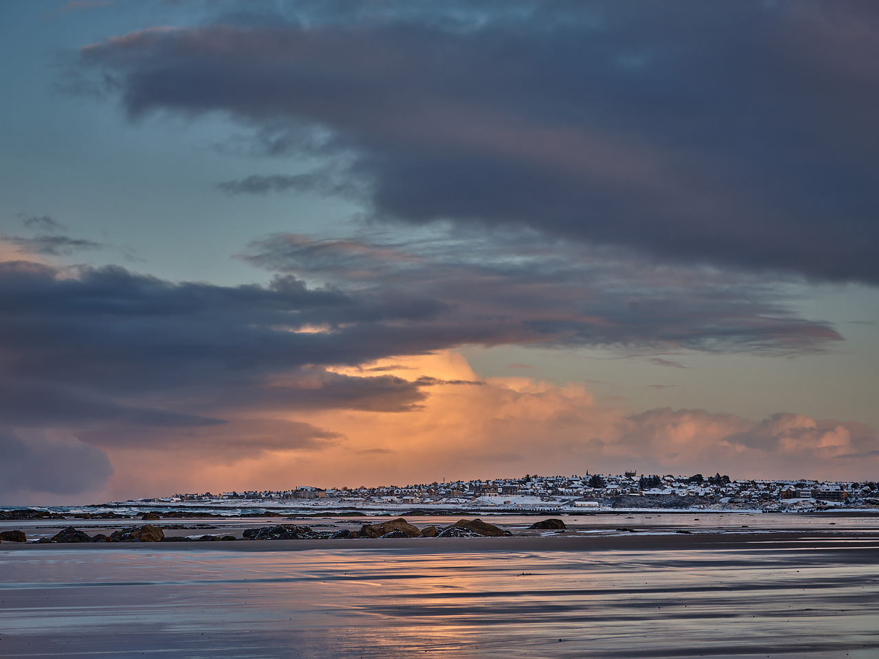 Winter Sky Over Lossie.