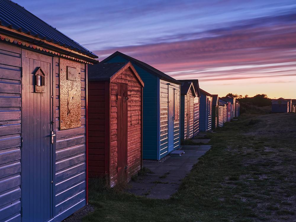 Beach Hut Sundown