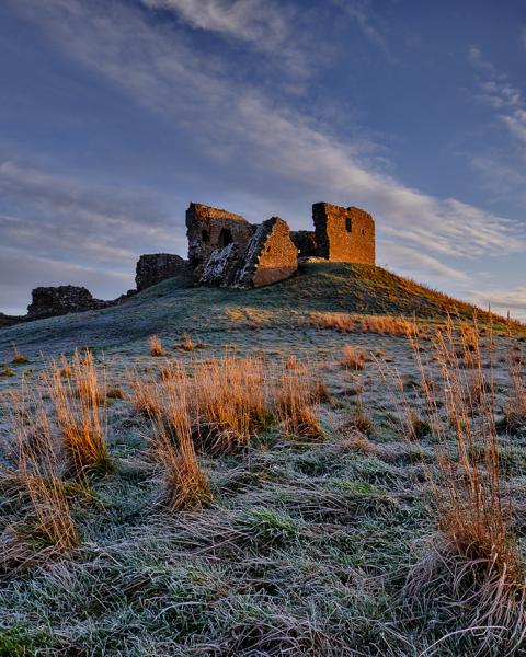 Winter Light - Duffus Castle