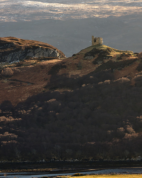 Evening Light On Castle Varrich - No 1