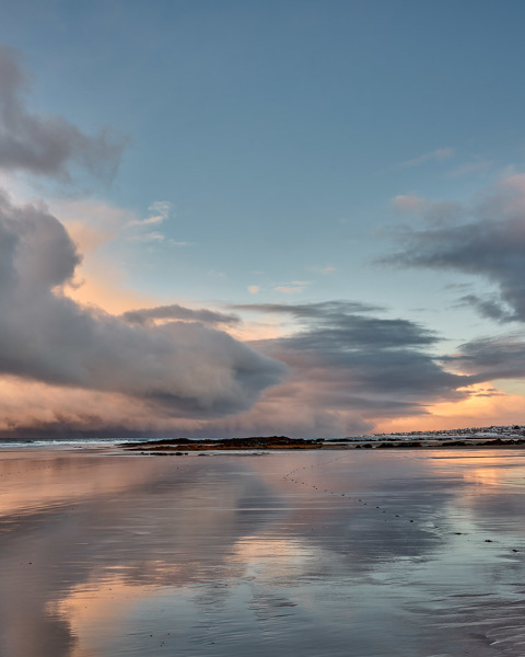 Winter Reflections - Lossiemouth