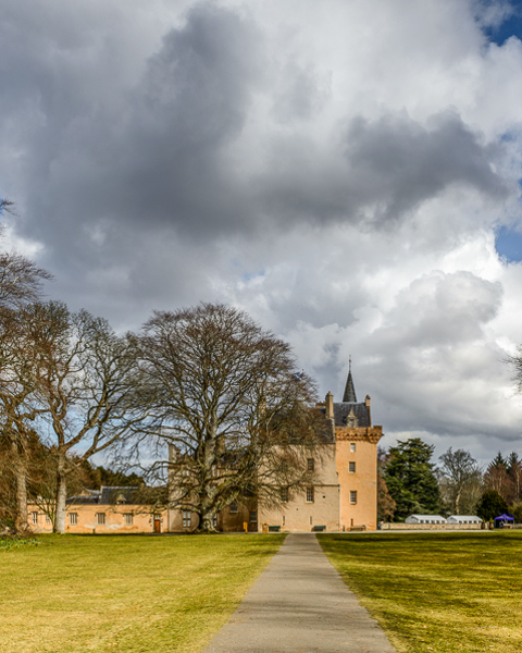 Early Spring, Brodie Castle.