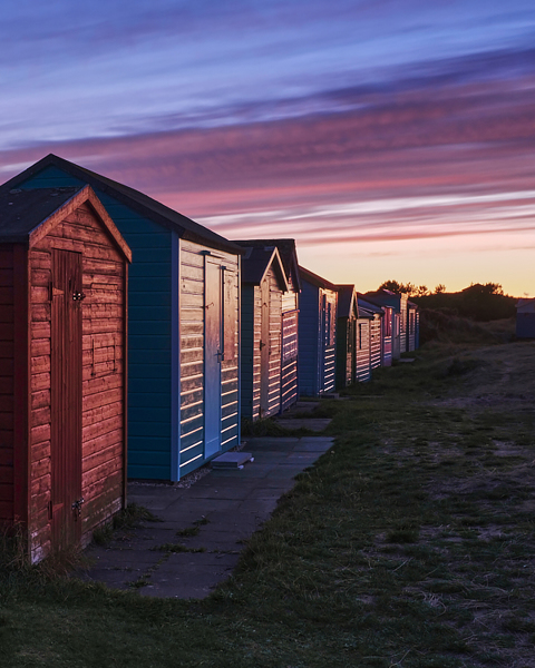 Beach Hut Sundown